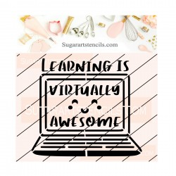 Learning virtually school...