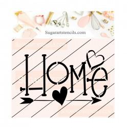 Home cookie stencil JB518