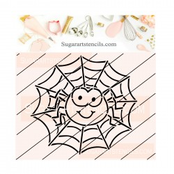 Spiderweb PYO cookie...