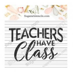 Teacher appreciation words...