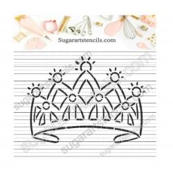 Princess crown PYO Cookie...