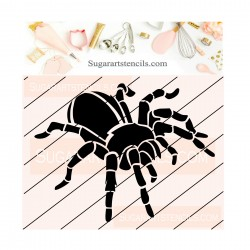Spider cookie stencil...