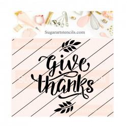 Thanksgiving cookie stencil...