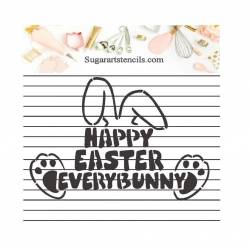 Happy Easter everybunny...