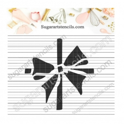 Bow stencil  NB22201