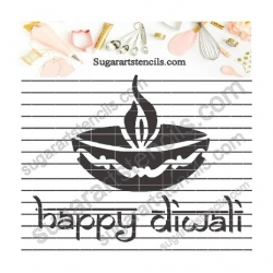 Happy Diwali lantern cookie...