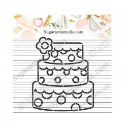 Birthday cake PYO cookie...