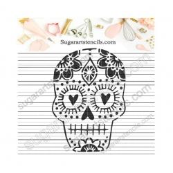 Mexican sugar skull cookie...