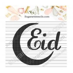 Cookie stencil Eid Ramadan...