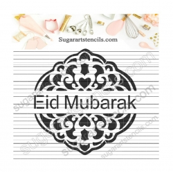 Stencil for cookies Eid...