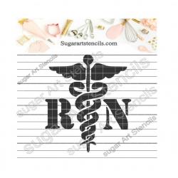 RN medical Stencil for...