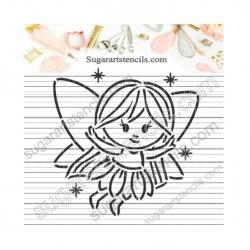 Fairy PYO Cookie stencil...