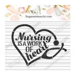 Nursing work of heart...
