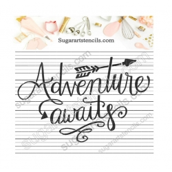 Adventure awaits words...