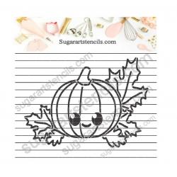 Pumpkin Pyo cookie Stencil...