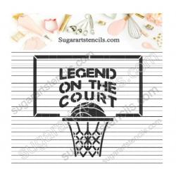 Basketball words goal sport...