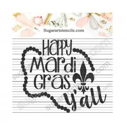 Happy Mardi Gras Y'all...