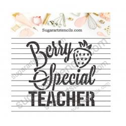 Berry special teacher...
