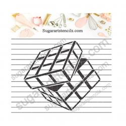 Rubik's cube PYO cookie...