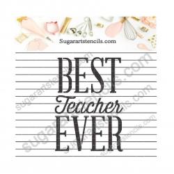 teacher appreciation cookie...