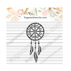 Dream catcher cookie...