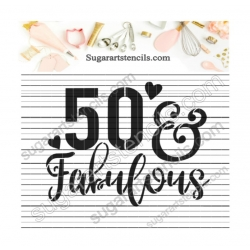 50 & Fabulous Birthday...