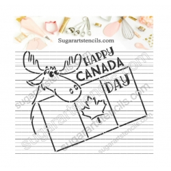 Happy Canada day moose PYO...