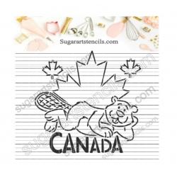 Canada day beaver PYO...