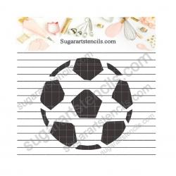 Soccer ball sport cookie...