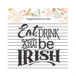 St-Patrick's day Eat drink...