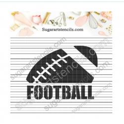 Football word ball sport...