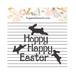 Hoppy Happy Easter cookie...