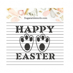 Happy Easter Bunny paw...