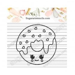 Donut kawaii PYO cookie...