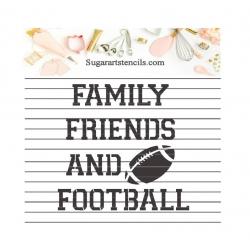 Football words family...