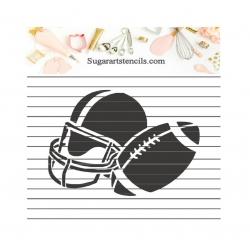 Football helmet cookie...