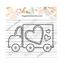Truck Valentine's day PYO...