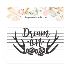 Dream on floral deer...