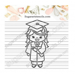 Graduation PYO Cookie...