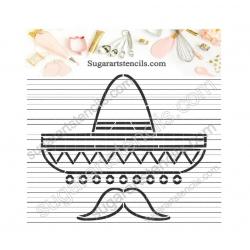 PYO cookie Stencil Mexican...