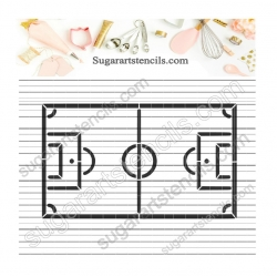 Soccer field PYO Cookie...