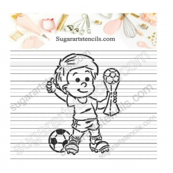 Soccer world cup PYO Cookie...