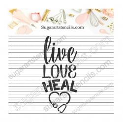 Nurse Live love heal cookie...