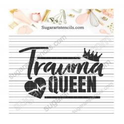 Nurse Trauma queen cookie...