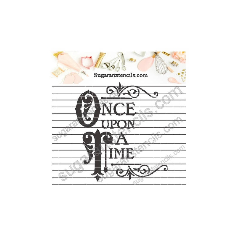 Once Upon a Time 783-B287 Stencil