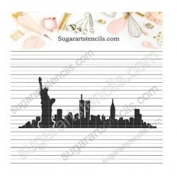 New York cookie stencil...