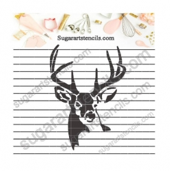 Deer cookie  Stencil for...