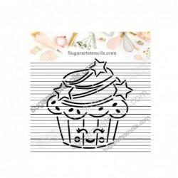 Kawaii cupcake PYO cookie...
