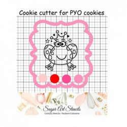 Plaque PYO cookie cutter...