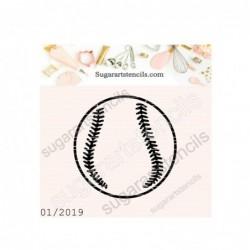 Baseball softball cookie...